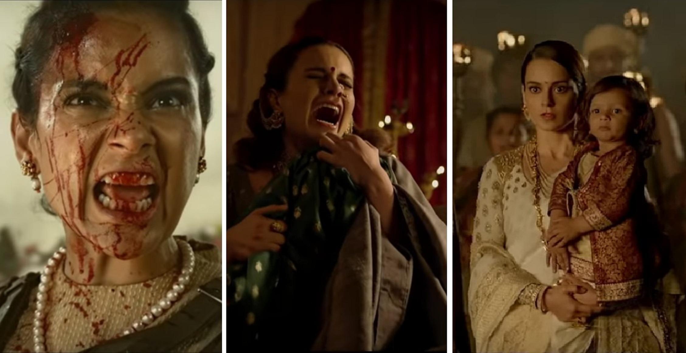'मणिकर्णिका'को ट्रेलरमा कंगनाको रानी अवतार (भिडियो)