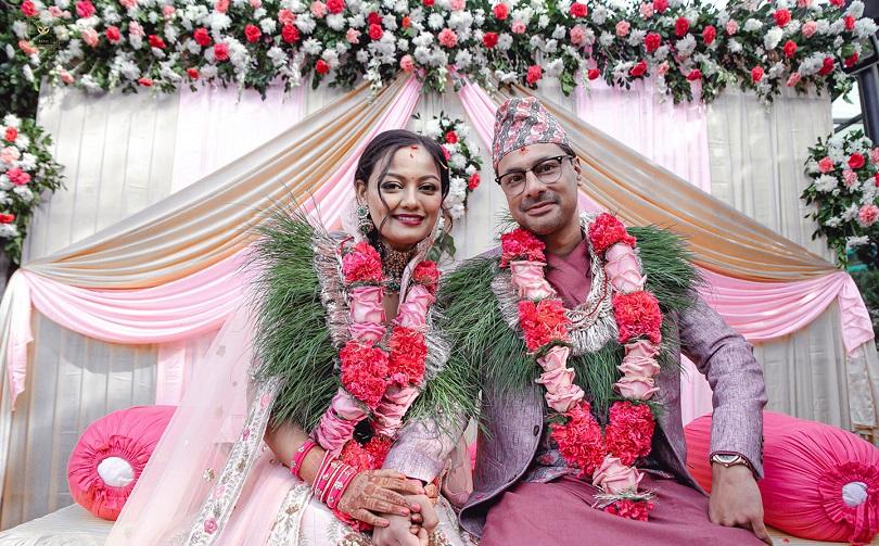 दिपेक्ष विक्रम राणासँग वैवाहिक जीवनमा ऋचा शर्मा
