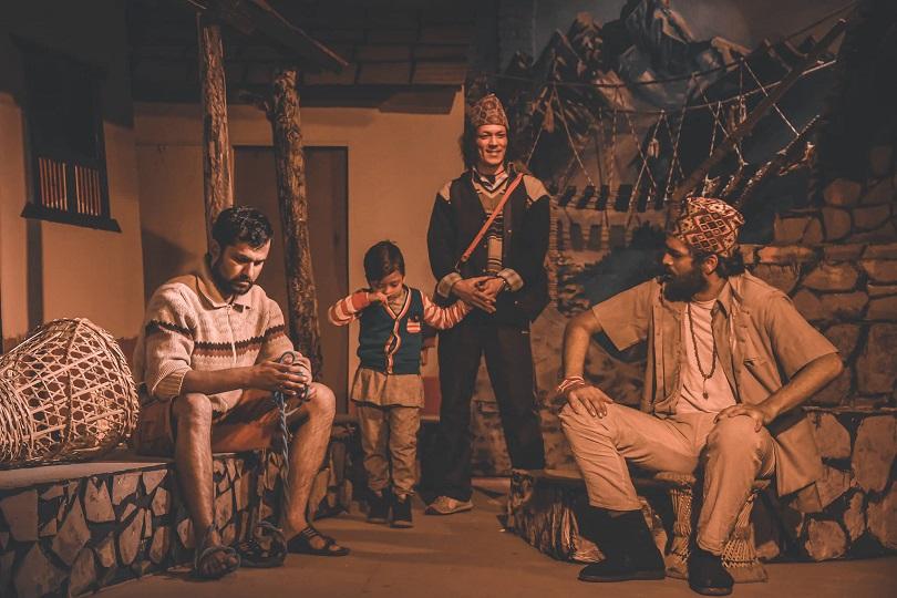 नाटक 'झिम्के मामा'को मञ्चन सुरु(फोटो फिचर)