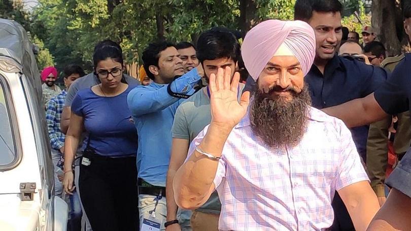 पेनकिलर खाँदै 'लाल सिंह चड्ढा'को सुटिङमा आमिर खान