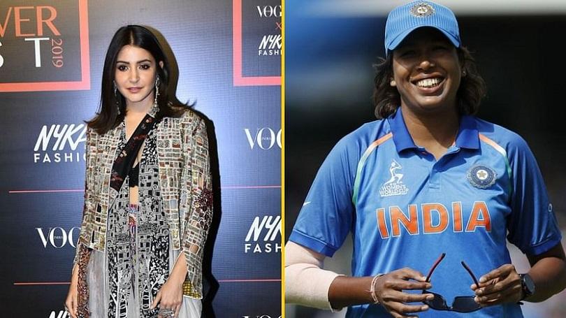 क्रिकेटर झुलन गोस्वामी बन्दै अनुष्का शर्मा