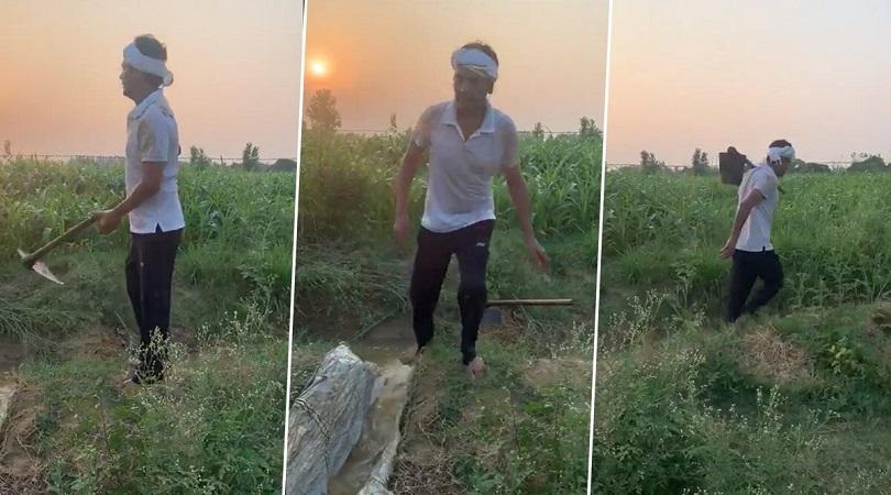 खेतमा काम गर्नमा मस्त नवाजुद्दीन सिद्दीकी