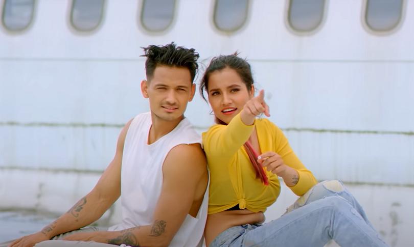 मेलिना र सुदनको डान्सिङ नम्बर 'उडी जाने जेट'(भिडियो)