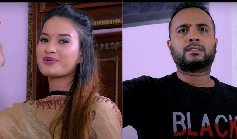 'टिकटक बहस' गर्दै विजय बराल र सुनिशा(भिडियो)
