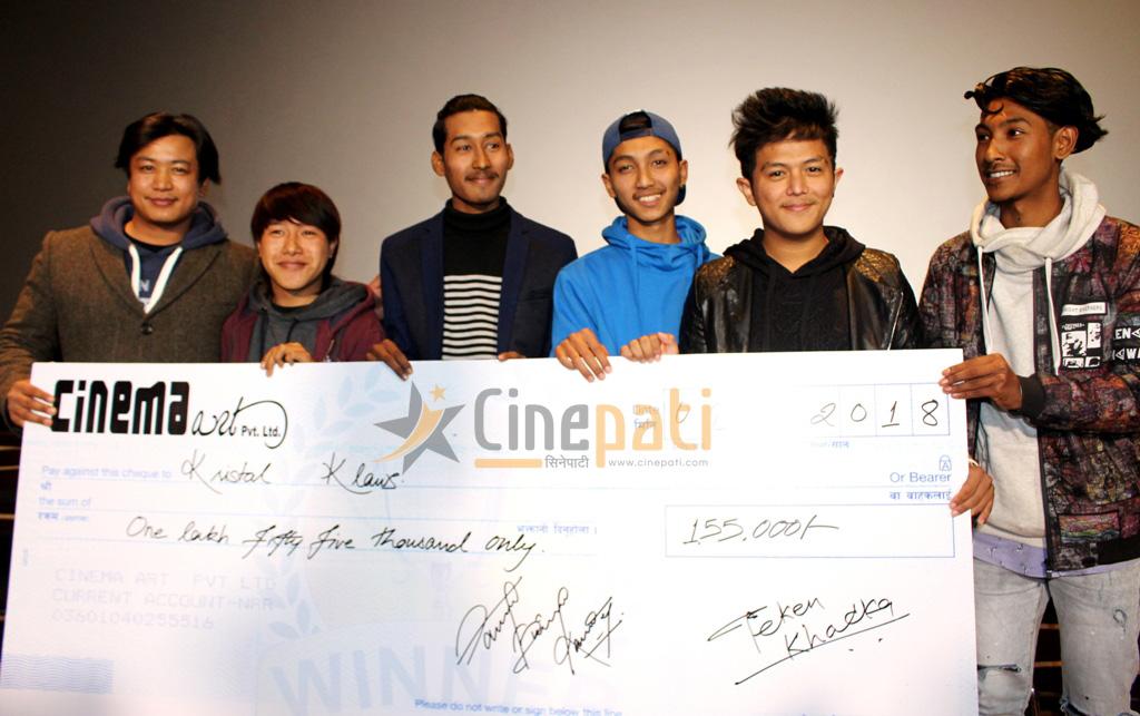 'क्रिष्टल क्लाउज क्रु' बन्यो 'मिस्टर झोल' कभर भिडियोको विजेता